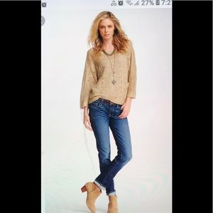 Lucky brand Cate stacked skinny jeans